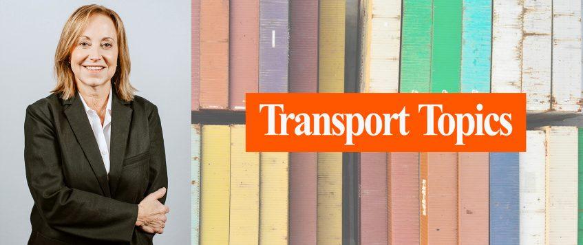 Transport Topics Highlights IMCC CAO Sherrie Hollis